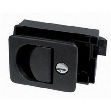 CUBE LOCK WITH RECESSED GRIP